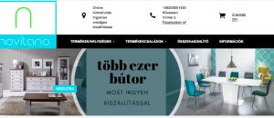 novitano bútor webáruház